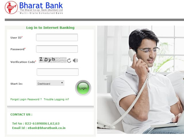 Bharat Bank Internet Banking