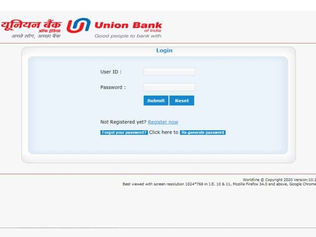 How To Use Union Bank Of India Credit Card Login Ubi Credit Card